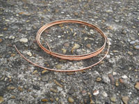 3 Metre 2.00mm x 0.17mm Rectangular Bare Copper Wire