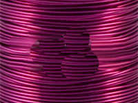 500g 0.25mm VIOLET Coloured Solderable Enamelled Copper Wire