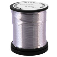 35g 0.2mm 30SP Silver Plated Copper Craft Wire