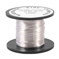 10 Metres 0.1mm Soft Fine Silver Wire 99.99%