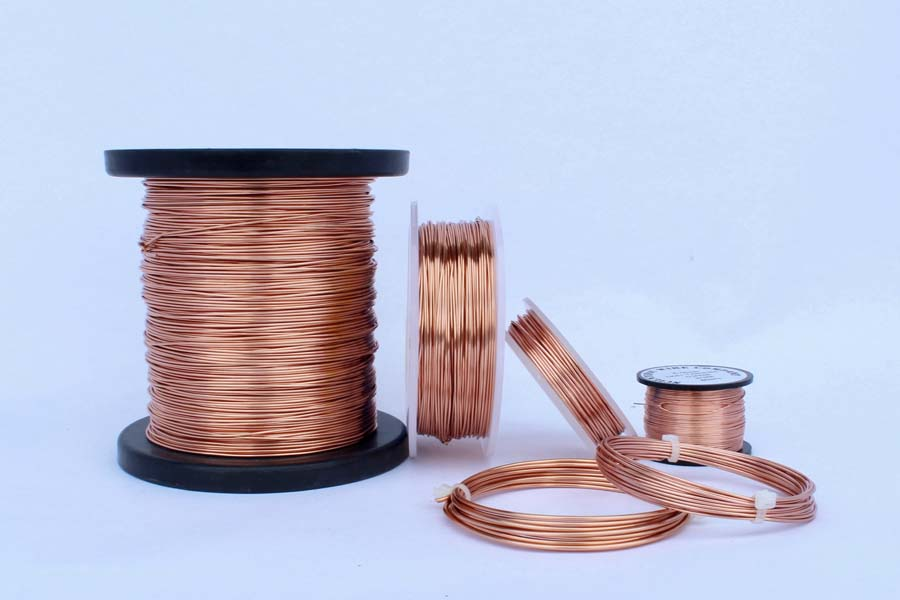500Grams 0.6mm NT Copper craft  Wire (198Metres)
