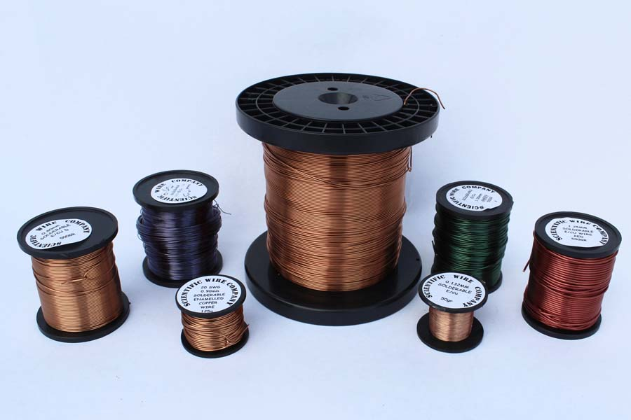 500g 0.063mm Solderable Enamelled Copper Wire 1x500g