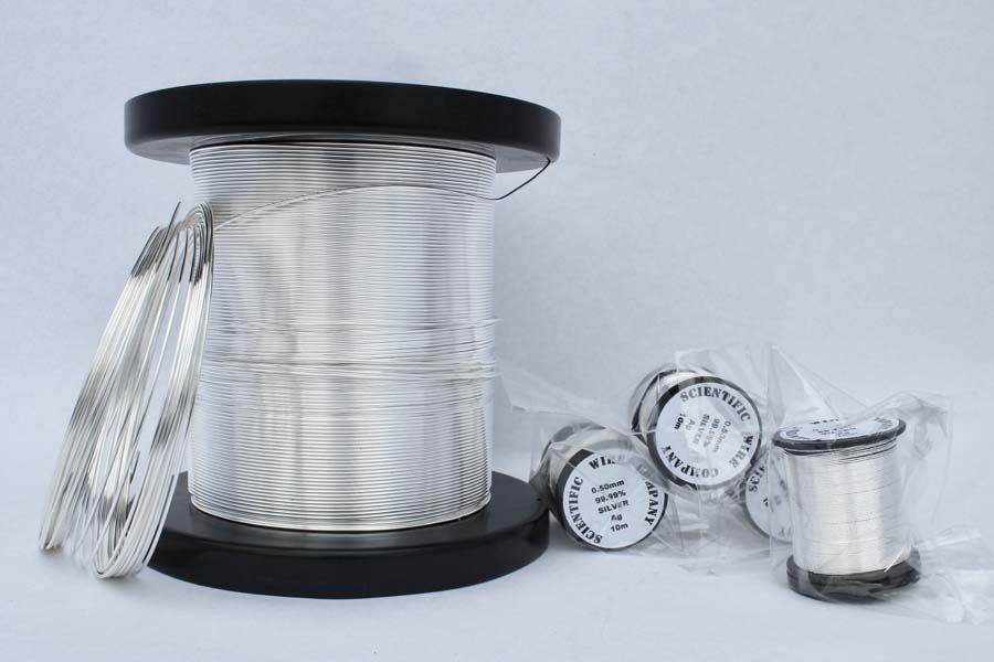 Round STERLING 925 Silver Wire soft