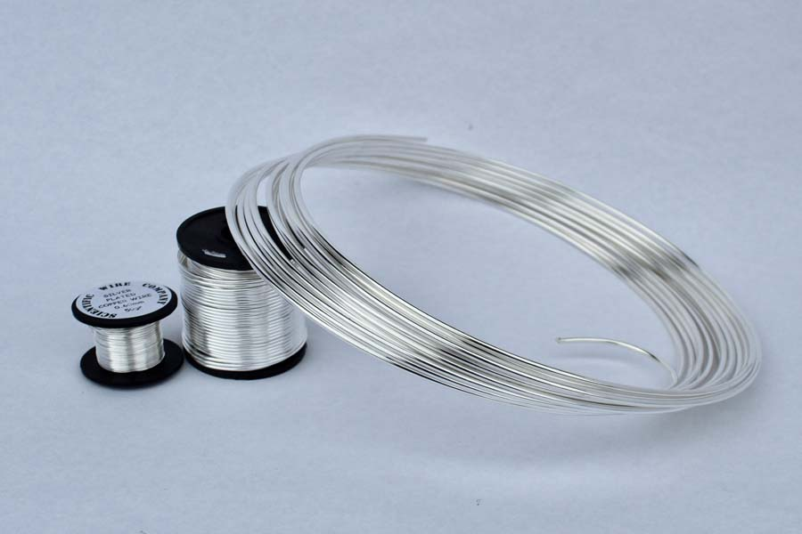 Silver Coated Wire Braided Craft - WIRE Center •