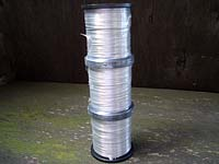 2mm Bare Aluminium Wire 500g (approx. 59 Metres)(3 Reels) EXTRA SOFT