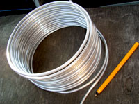 4.55mm Bare Aluminium Wire 500g (approx. 10 Metres) EXTRA SOFT