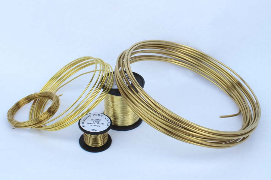 500g 1mm Bare Brass Wire