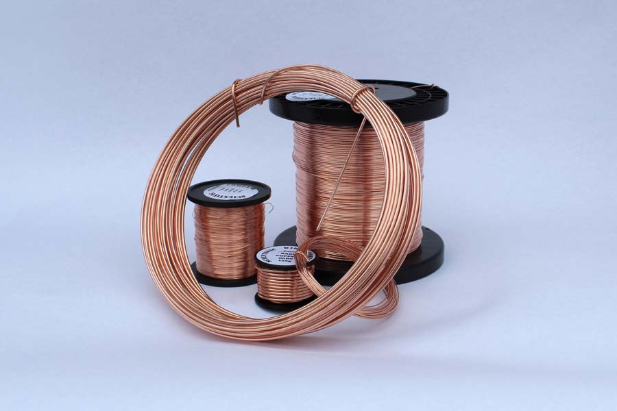 500g 3.25mm Bare Copper Wire (approx7 Metres)