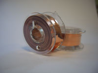 3 Metres of 2mm x 0.175mm bare Copper Tape