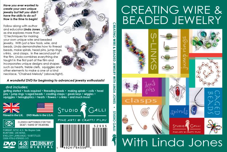 WIRES.CO.UK Creating Wire & Beaded Jewelry ## DVD ##: with Linda Jones