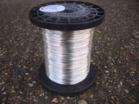 1KG 0.6mm soft Silver Plated Copper Wire NON TARN soft