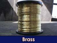 500g 0.1mm bare Brass Wire