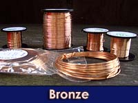 50g 0.315mm Bronze Wire