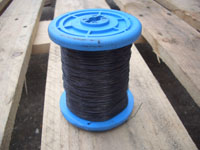 1kg 0.5mm Black Iron Wire (silght rust)