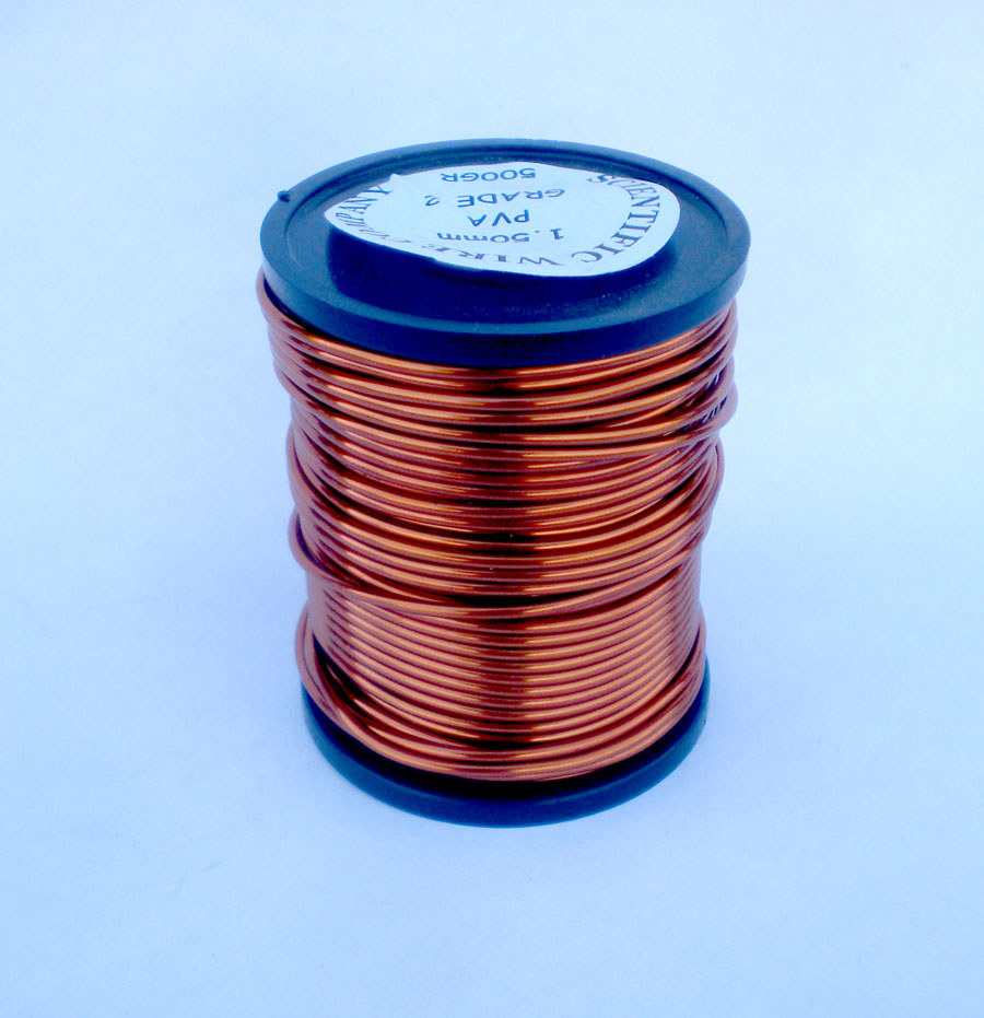 Poly Vinyl Acetate Pva Enamelled Copper Wire Electrical 1kg 3mm