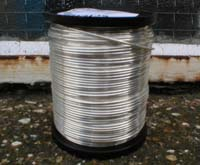 500g 0.90mm Hard Drawn Silver Plated Copper Wire