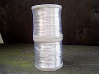 1KG 1.0mm Silver Plated Copper Wire NON TARN