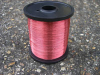 500g 0.20mm ROSE PINK COLOURED COPPER WIRE