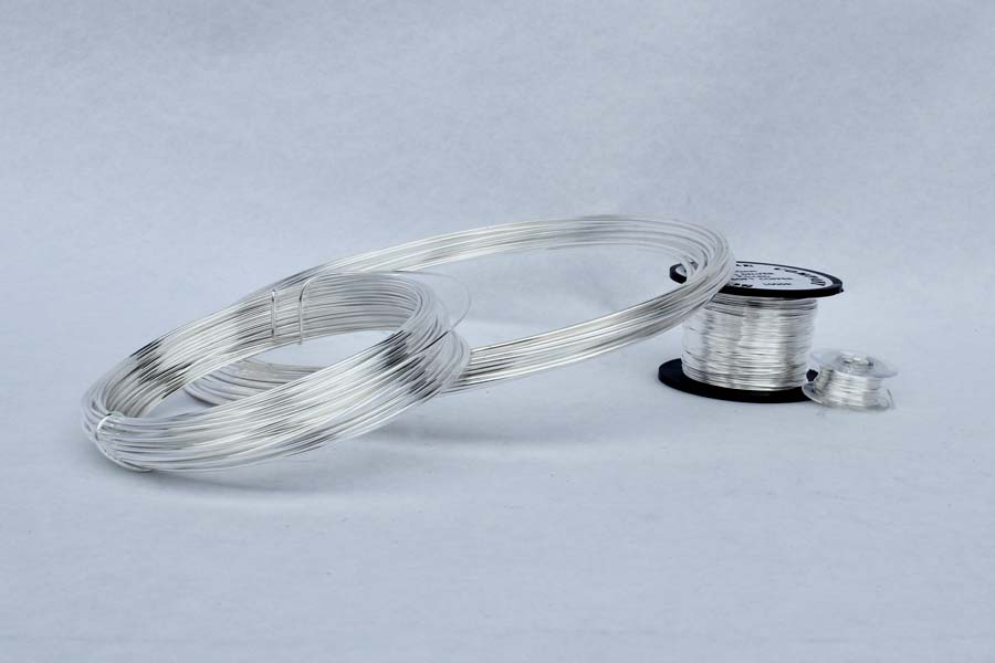 10 Metres 0.4mm 10% Silver Filled Copper Wire