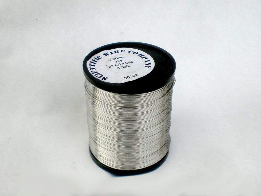 500 gram 1.6mm Diameter 316 grade STAINLESS STEEL Wire