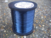 50g 0.1mm BLUE Solderable Enamelled Copper Wire