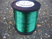 50g 0.1mm GREEN coloured Solderable Enamelled Copper Wire
